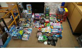 Joblot of 90 Assorted Branded Childrens Toys - Huge Variety - Customer Returns