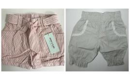 One Off Joblot Of 9 Girls Or Boys Designer Shorts From Mini A Ture & Aya Naya Bottoms