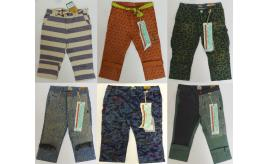 One Off Joblot of 11 Scotch Shrunk Boys Patterned Trousers 11 Styles 6-9 Years