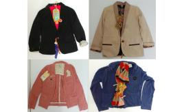 One Off Joblot of 6 Scotch R'Belle Girls Blazer Jackets 6 Styles 6-9 Years