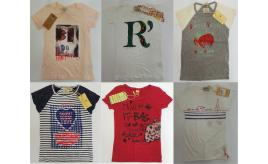 One Off Joblot of 19 Scotch R'Belle Girls Assorted Print T-Shirts 6-9 Years