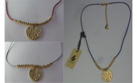 Wholesale Joblot of 20 DesignSix Ladies Luna Necklace 3 Colours