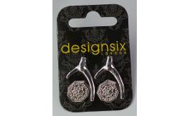 One Off Joblot of 31 DesignSix Ladies Silver Earring Set (2 Pairs) AM335