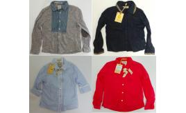 One Off Joblot of 10 Scotch R'Belle Assorted Shirts 10 Styles 6-9 Years