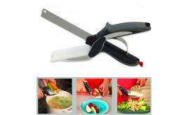 Clever Scissors 2 in 1 Knife and Cutting Board