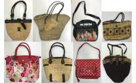 One Off Joblot of 19 Ladies Bags in Assorted Styles with Defects