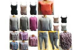 Wholesale Joblot of 500 Assorted Clothing Pieces Mens & Womens Huge Range