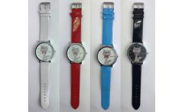 Wholesale Joblot of 10 Ladies WoMaGe Cat Dial Watches Mixed Colours
