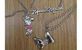 45 Genuine Minnie Mouse pendants in 3 Different designs.