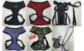 Wholesale Joblot of 50 Dog Harnesses - Mixed Styles & Sizes - Puppia & More