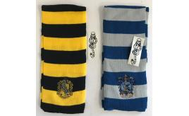 One Off Joblot of 25 Harry Potter Scarves & Temp Tattoo - Ravenclaw & Hufflepuff