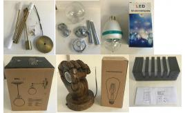 Joblot of 15 Mixed Lighting - Pendants, Wall Lights & More - Permo, Pathson Etc
