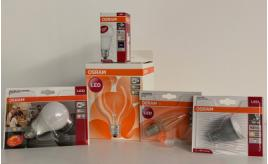 OSRAM LED lightbulbs