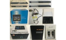 "Joblot of 41 Mixed Car Joblot - HD Systems, 7"" Colour Monitor, Headlights Etc"