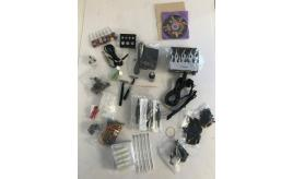 One Off Joblot of 8 Complete Tattoo Kits & 3 Practice Skins - Solong Tattoo Etc