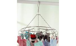 One Off Joblot of 56 Ecolife Spinning Hanging Rack for Drying Clothing 20 Clips