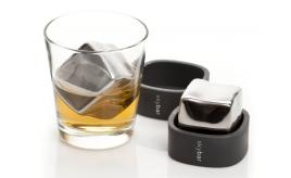 Skybar Wine Chill Blocks Whisky Rocks Set of Two Cool Cubes for Chilling Wine or Spirits