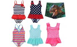 Wholesale Joblot of 50 CharmLeaks & Attarco Mixed Childrens Swimwear