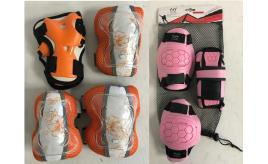 Joblot of 10 Kids Skating Protective Gear Pads Knee, Elbow, Wrist (Set of 6)