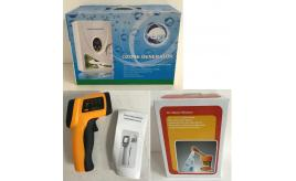 Joblot of 17 Home Items - Infrared Thermometer, Ozone Generator, Vapour Steamer