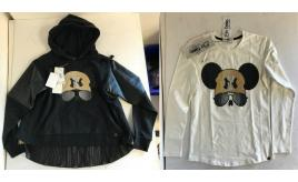 One Off Joblot of 3 So Twee by Miss Grant Girls NY Mouse Hoodies/Top 2 Styles