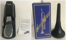 Joblot of 18 Music Stock - M-Audio SP-2 Universal Sustain Pedal & Trumpet Stand