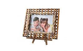 ARPAN Wooden Photo Frame With Stand For Xmas (5''x''7 Inch)
