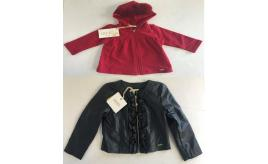 One Off Joblot of 5 Liu Jo Girls Pom Hoodies and Imitation Leather Jackets