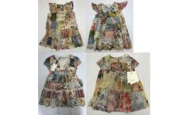 One Off Joblot of 7 Twinset Girls Floral Summer Dresses 4 Styles Range of Sizes