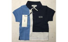 One Off Joblot of 7 Hugo Boss Young Childrens Polo Shirts 2 Styles