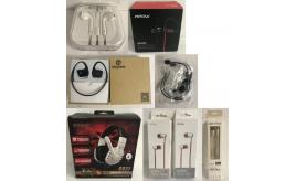 One Off Joblot of 57 Headphones & Audio Stock - Music, Gaming Headsets Etc