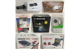 One Off Joblot of 15 Camera Stock & More - Car DVR, Action Cameras & More