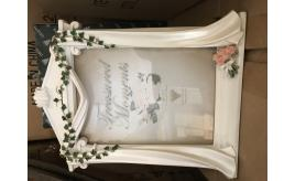Job lot 3. Wonderful quality selection of wedding related photo frames and other items