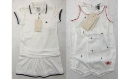 One Off Joblot of 6 Armani Girls Polo Tunic Dresses & Baby All-in-Ones