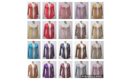 Shrug Women Ladies One Size Stretch Net Over 50 Colors Summer Cardigan 150 Pcs