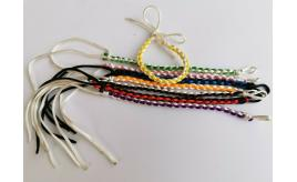 Wholesale Joblot Of 100 Colourful Braided Bracelets Adjustable Fits Adults & Kids