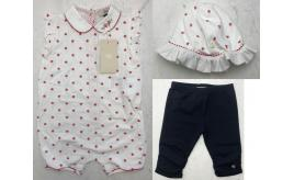 One Off Joblot of 9 Armani Baby Items in 3 Styles - All-in-Ones, Trousers, Hats