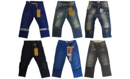 Wholesale Joblot of 10 Scotch Shrunk Boys Jeans Huge Range of Styles 6-9 Years