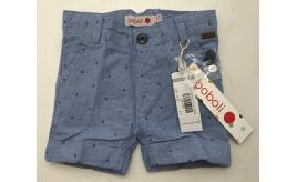 One Off Joblot of 11 Boboli Boys Blue Starfish Design Shorts Mixed Sizes