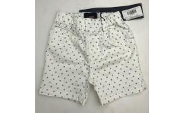 One Off Joblot of 6 Bugatti Boys White Logo Print Shorts Mixed Sizes