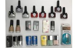 One Off Joblot of 25 Branded Nail Stock - Majority Nail Polish - Good Variety