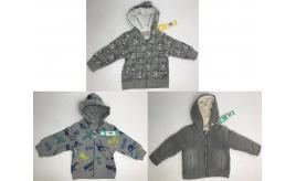 One Off Joblot of 6 Boboli Kids Grey Hoodies in 3 Styles Sizes 6m - 4 Years