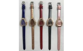 One Off Joblot of 15 Ladies Diamante Dial Tear Drop Watches in 5 Colours