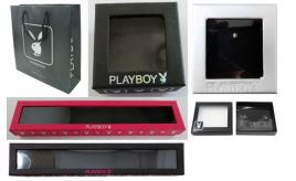 Pallet of 11,000 Mixed Playboy Jewellery Boxes/Bags