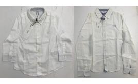 One Off Joblot of 8 Hugo Boss Boys White Dress Shirts in 4 Styles Range of Sizes