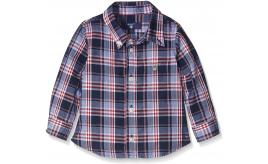 One Off Joblot of 14 Gant Blue/Red Multi-Check Chest Pocket Shirt Range of Sizes
