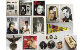 Pallet of 3502 Official Elvis Stock - Calendars, Figurines, Postcards & More P5