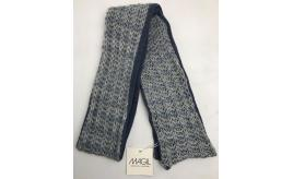 One Off Joblot of 3 Childrens Magil Wool-Blend Scarf Blue - One Size