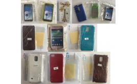 One Off Joblot of 76 Mixed Mobile Phone Covers for Apple, Samsung & More