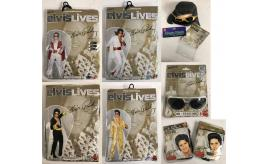 Joblot of 17 Smiffy's Official Licensed Elvis Fancy Dress Stock - Costumes Etc